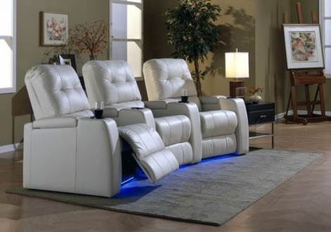 Record Theatre Seating Recliners - Palliser