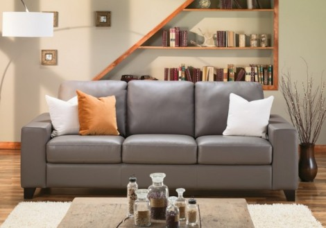 Palliser Palma Leather Sofa