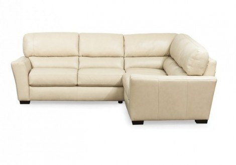 Palliser Becklow leather sectional