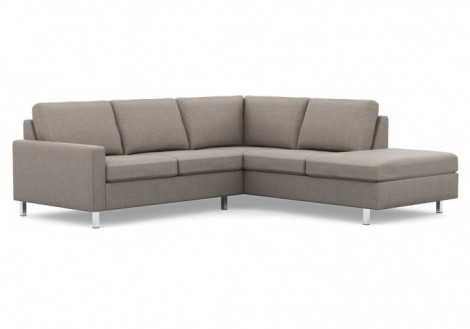 Inspirations Fabric Sectional Chaise