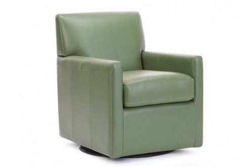 Pia Leather Swivel Chair - Palliser