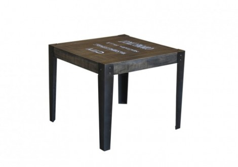 States Solid Wood End Table