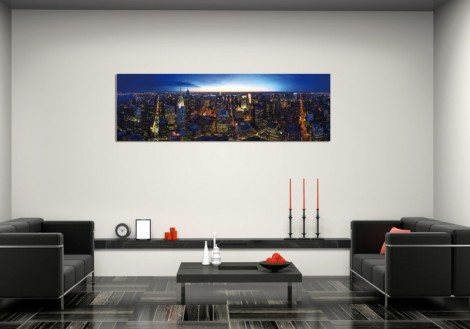 New York Skyline - Print on Plexiglass