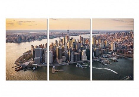 Manhatten Island - Print on Plexiglass
