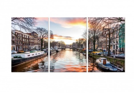 Amsterdam - Print on Plexiglass