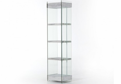 Kenmare Glass Bookshelf Four Hands