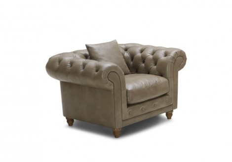 Oxford Leather Chair. U2039