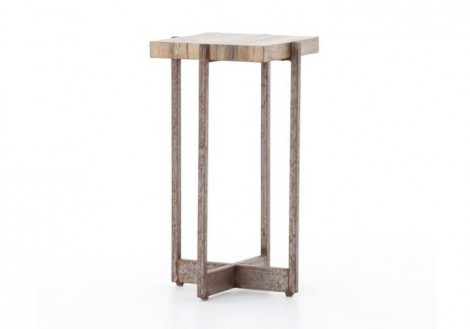 Hudson Accent Table Solid Wood