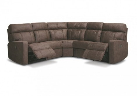 Palliser Oakwood Fabric Sectional