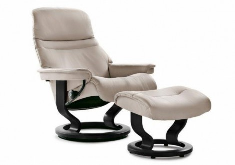 Ekornes Stressless Sunrise Medium Leather Recliner