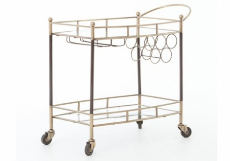 Coles Bar Cart - Four Hands