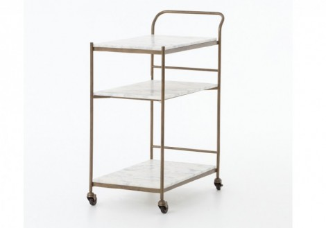 Felix Large Bar Cart by Four Hands