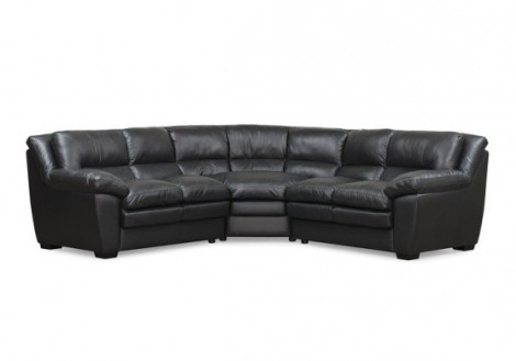 Palliser Thurston Leather Sectional Sofa