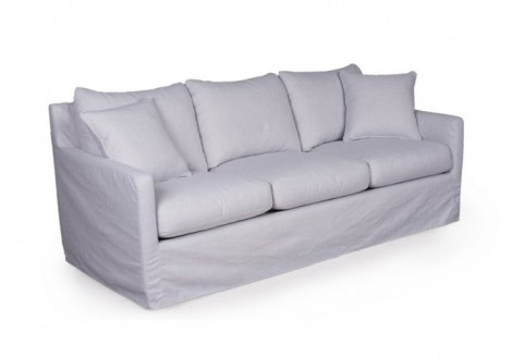 Connor Slip Cover Linen Sofa