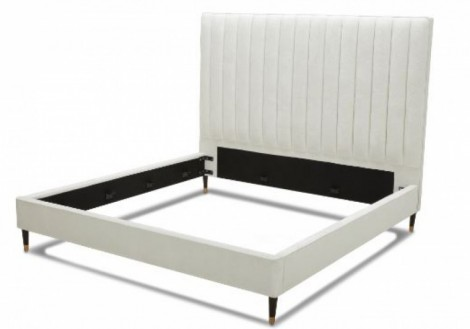 Empire King Fabric Platform Bed