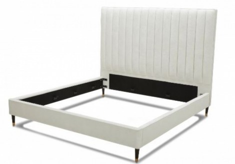 Empire Queen Fabric Platform Bed