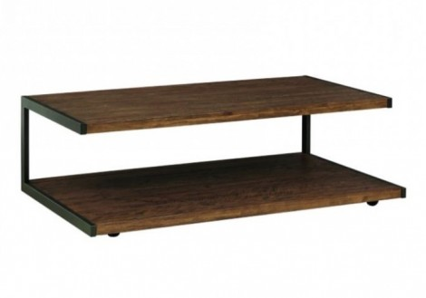 Revelstoke Coffee Table with casters solid wood