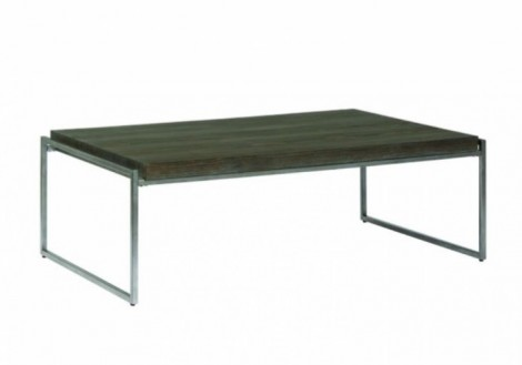 Thiago Coffee Table - Wood & Metal
