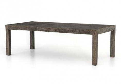 Post & Rail Solid Wood Extension Table
