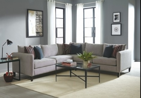 Jonathan Louis Kate Fabric Sectional Sofa
