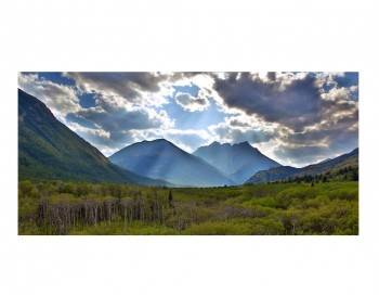 Crandell Pass - Waterton National Park