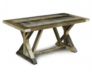 BraunShugar Dining Table - Wood Top