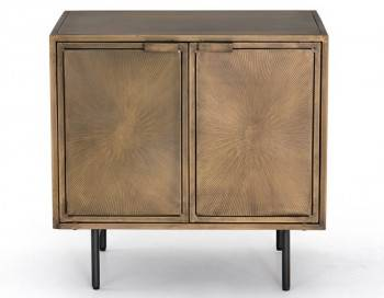 Sunburst Cabinet Night Stand