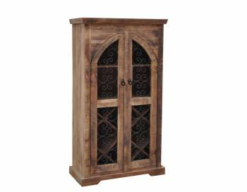 Railroad Wine Cabinet