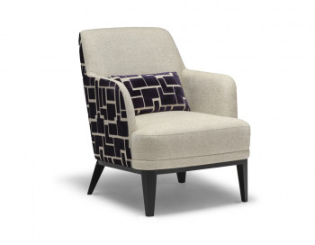 Kass Fabric Accent Chair
