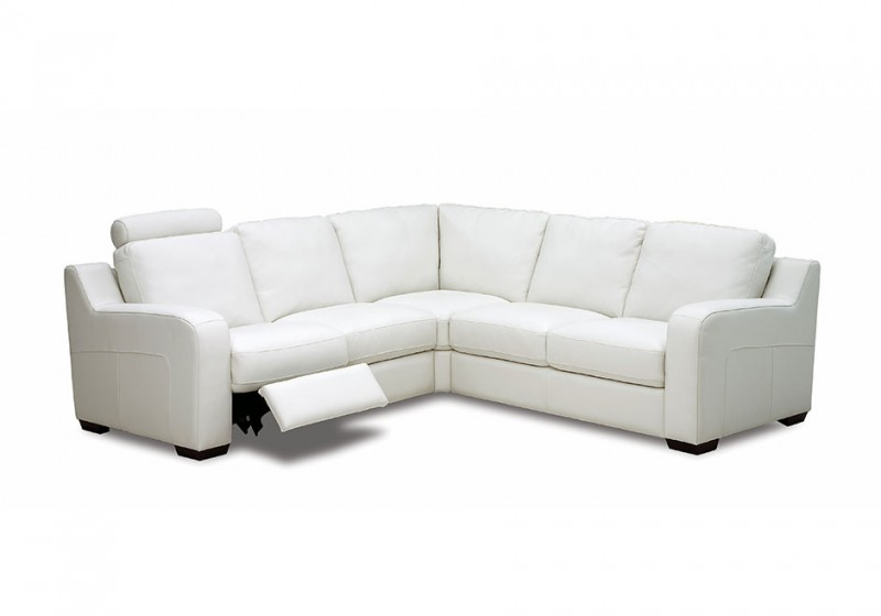 Embrace Leather Recliner Sectional Sofa