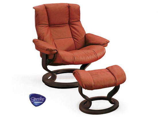 Mayfair Medium Leather Recliner - Ekornes Stressless