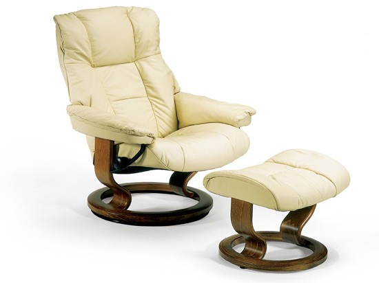 Mayfair Small Leather Recliner - Ekornes Stressless