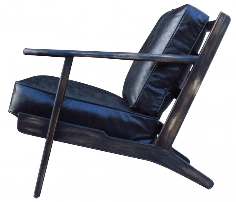 Four hands Brooks Leather Lounge Chair