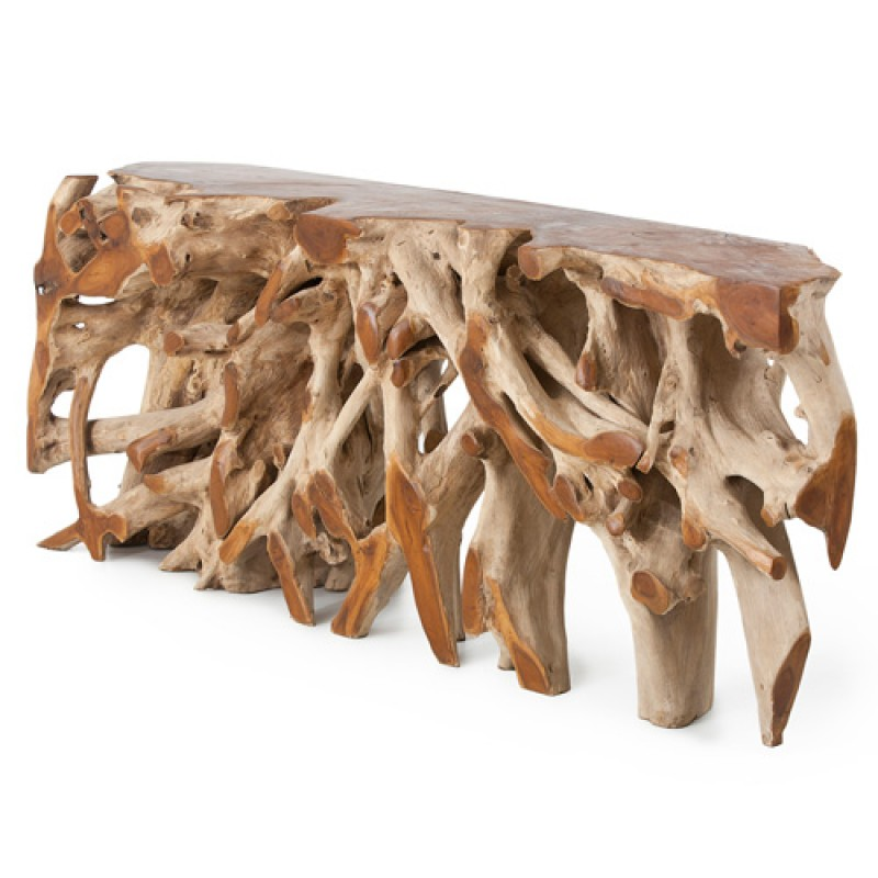 Pacific Console Wood Table