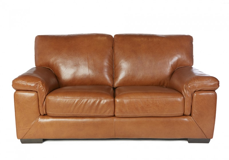 Ross Leather Loveseat