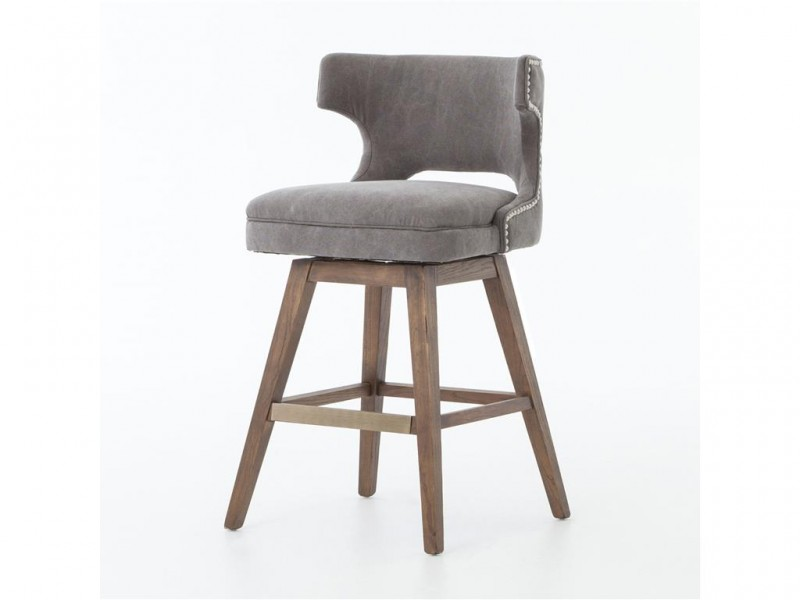Task Swivel Counter Stool Four Hands