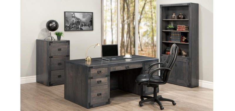 Saratoga Desk Solid Maple - Handstone