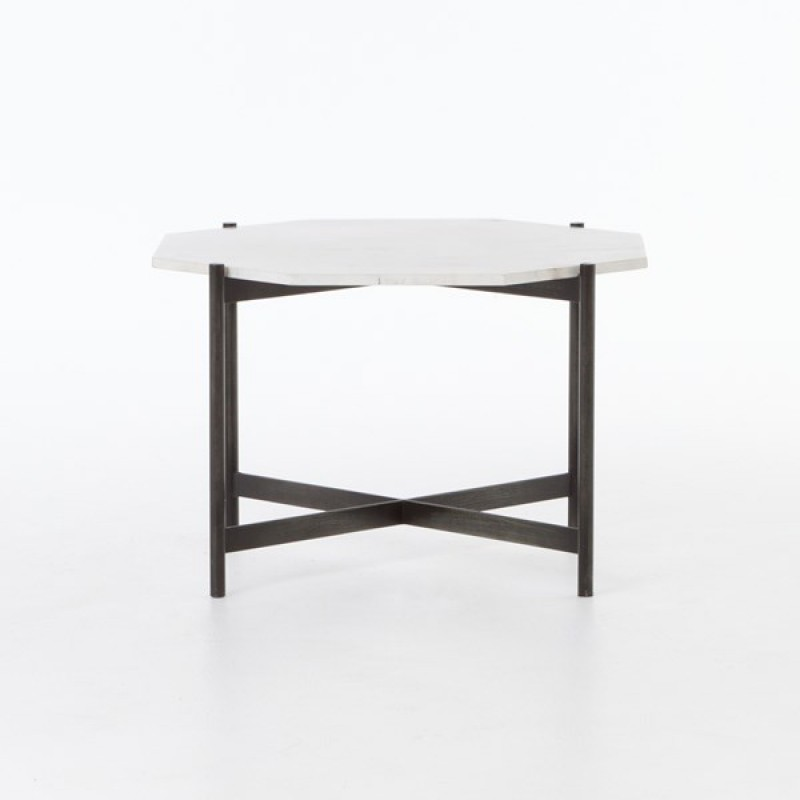Four Hands Marble Adair Bunching Table