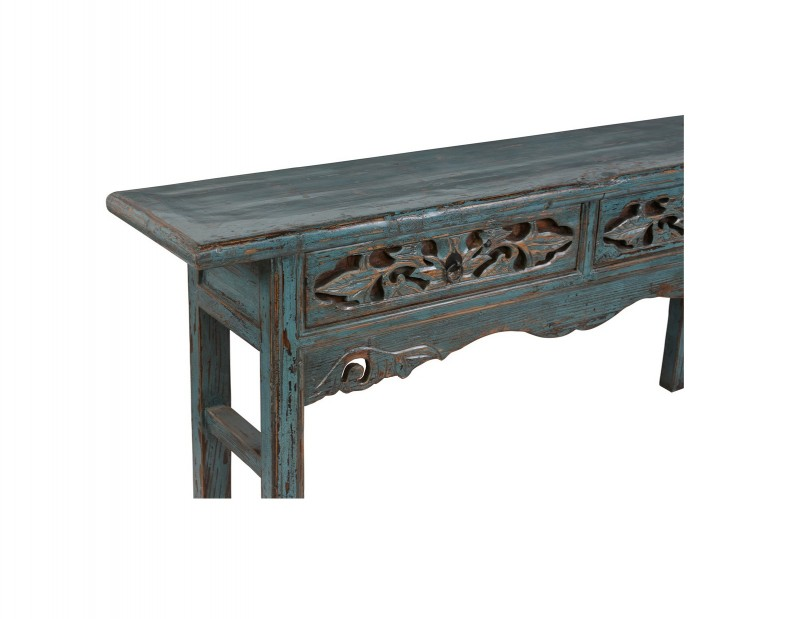 Fiona Console Table Solid Wood