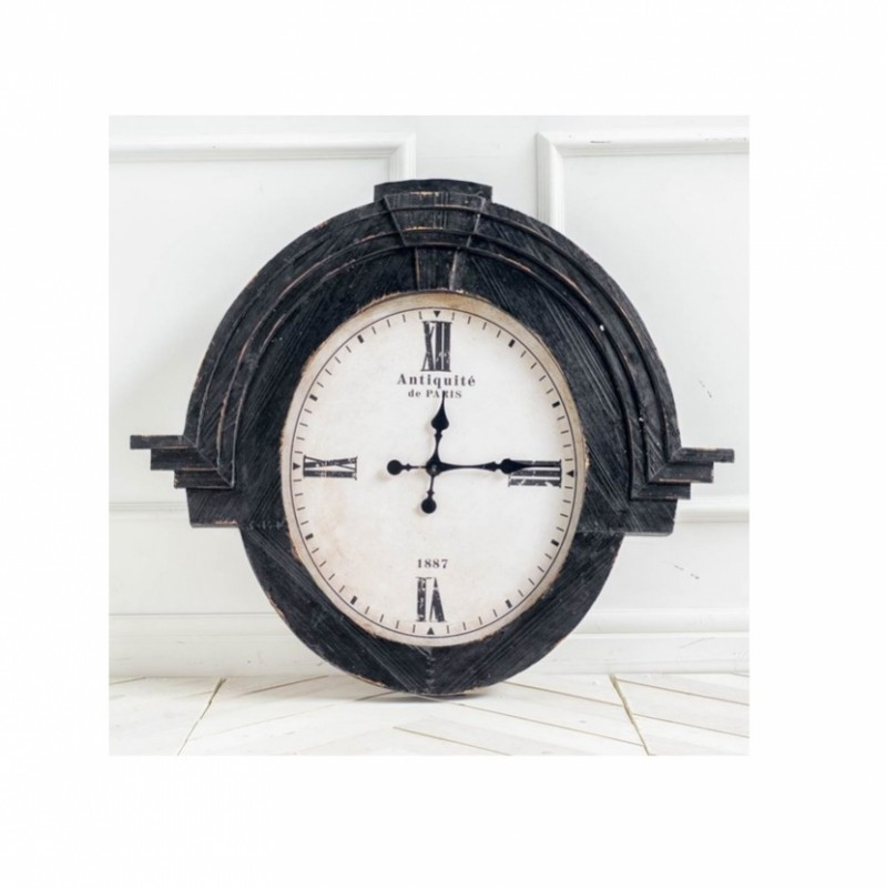 Chapman Antique French Wood Clock