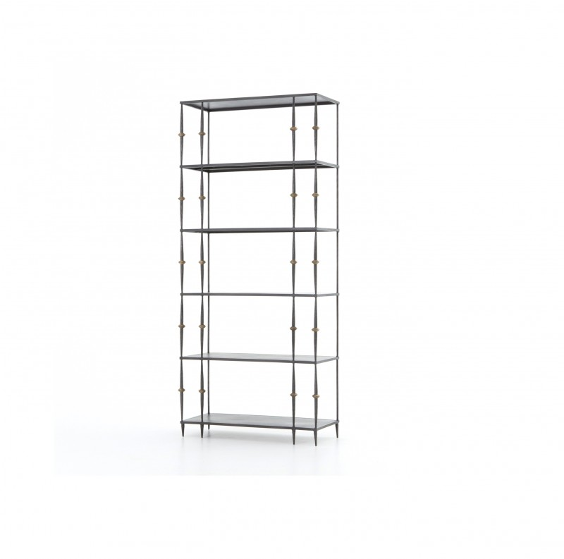 Penelope Metal Bookshelf by Four Hands