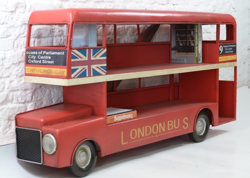 London Bus Bookshelf