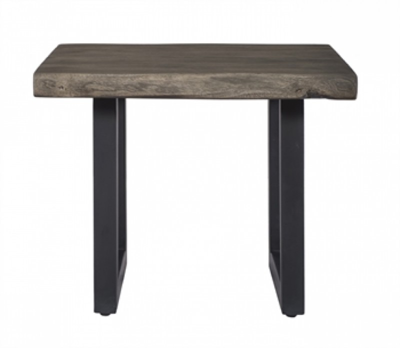 Tundra Solid Wood Live edge End Table