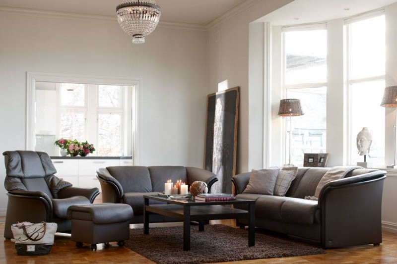 Manhattan Leather Sofa - Ekornes Stressless