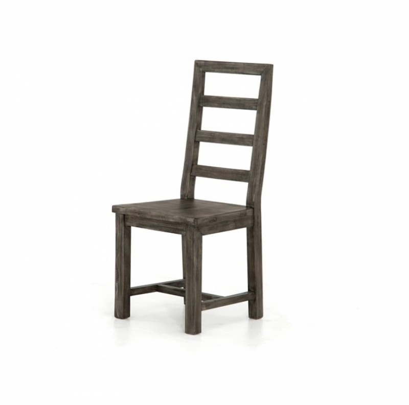 Post & Rail Solid Wood Dining Chair