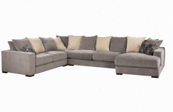 Lombardy Fabric Sectional - Jonathan Louis