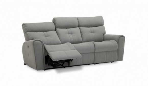 Acacia Leather Power Sofa Recliner