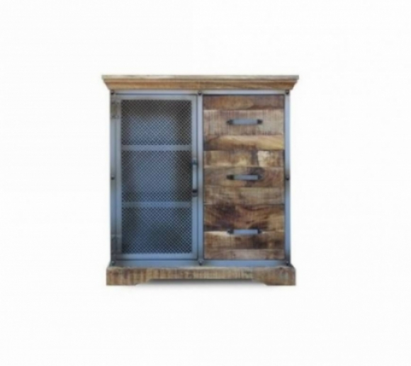 Industrie 1 Door Cabinet