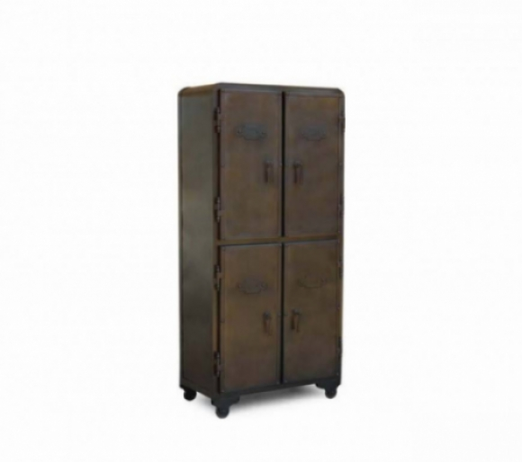 Industrial Metal Armoire