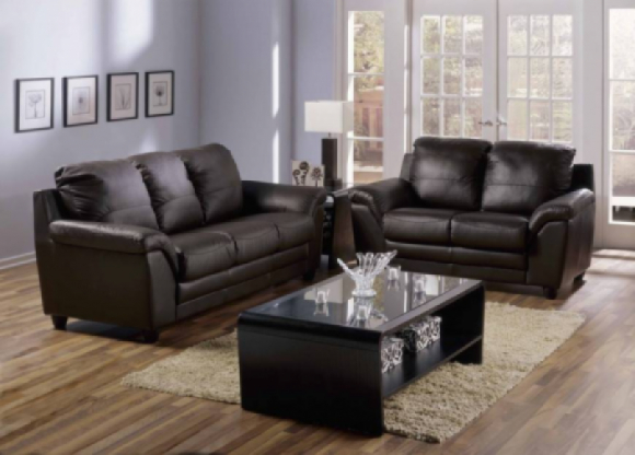 Sirus Leather Sofa